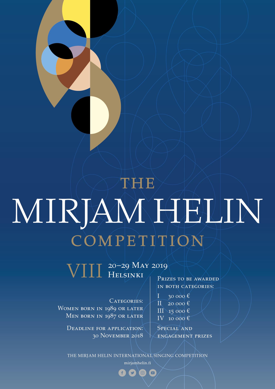 Brochure 2019 | The Mirjam Helin International Singing
